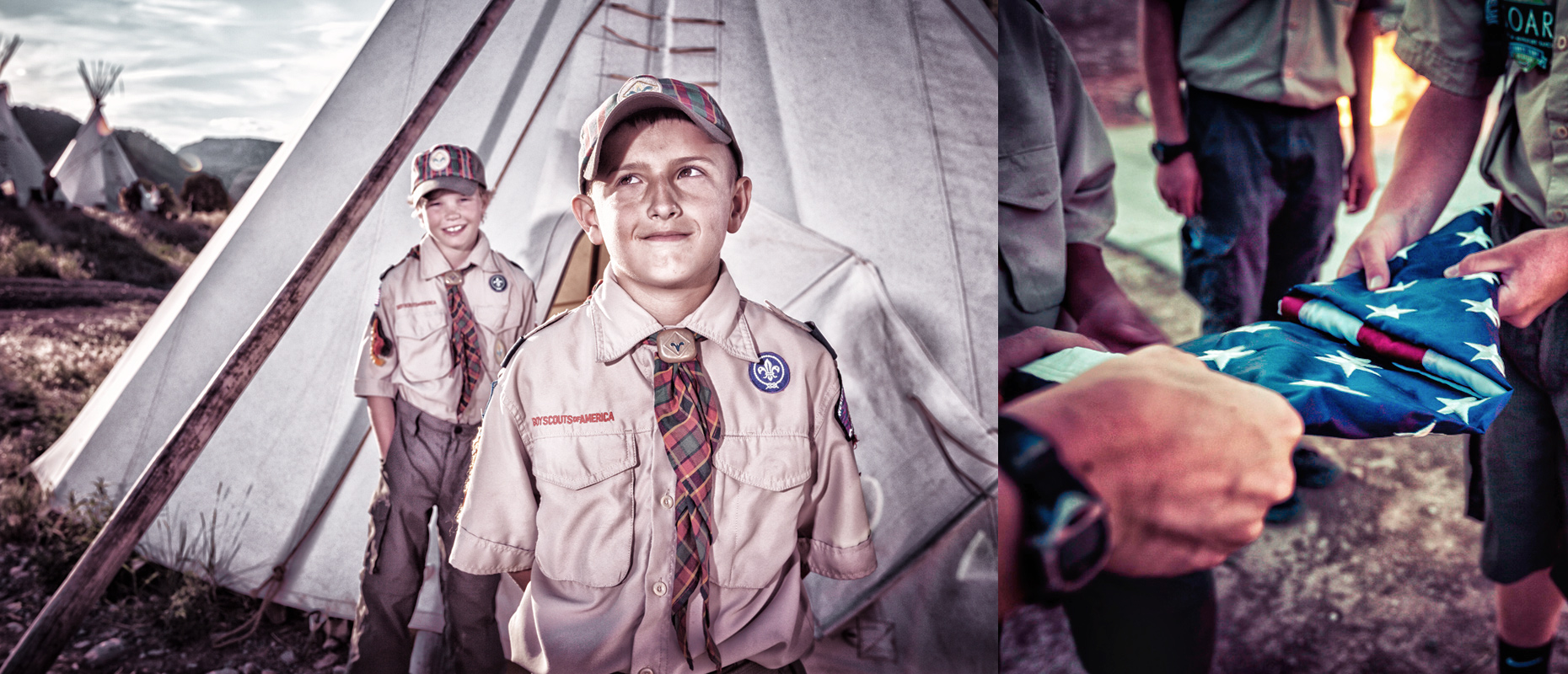Weblo Boy Scouts and Camp Teepee