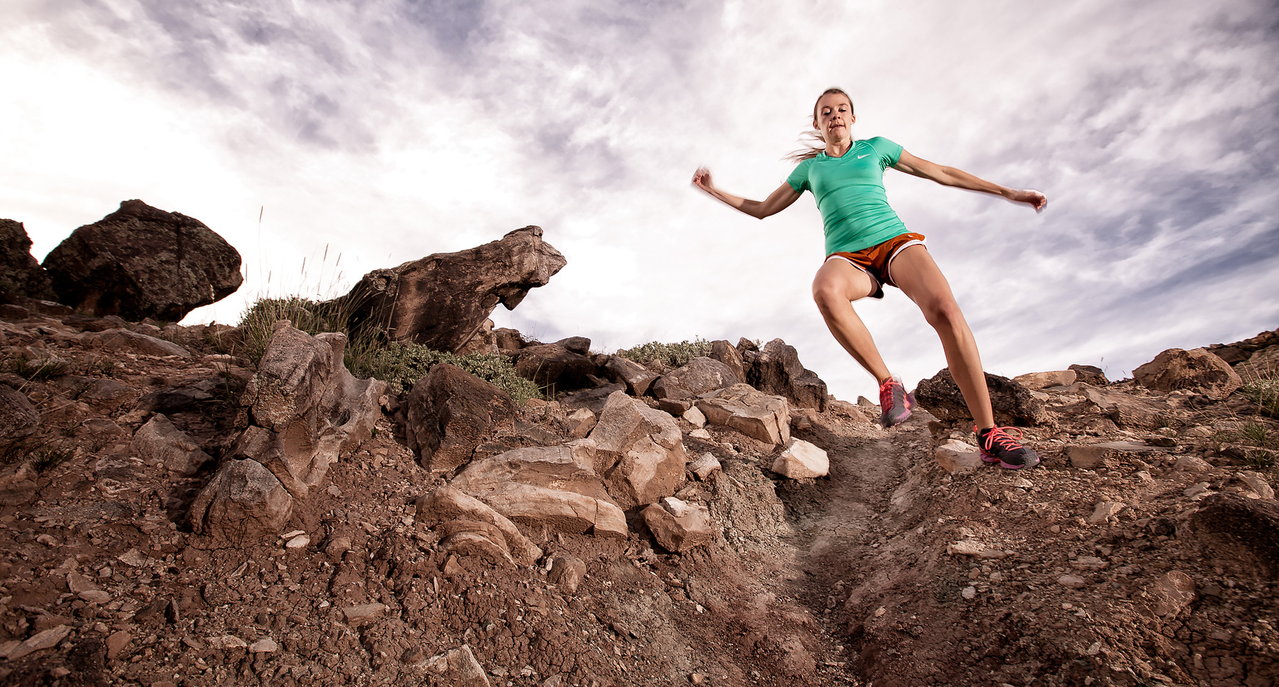 trail running woman grand junction colorado